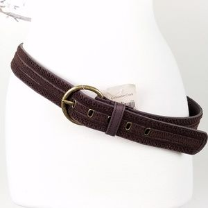 NWT Coldwater Creek | Soutache Brown Belt L 14-16